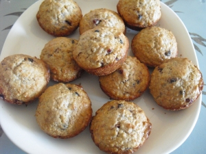 website choc chip muffins